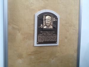 Bert Blyleven's HOF plaque