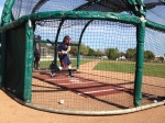 Joe Benson taking BP