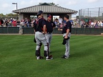 Mauer meeting with Rick Anderson, Jason Marquis
