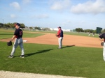 Gardenhire playing catch