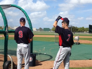 Mauer talking with Steve Liddle