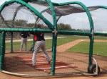 Mauer taking BP