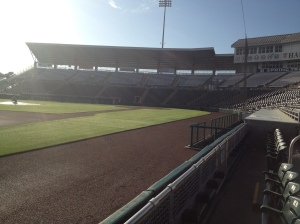 View of infield at Hammond Stadium
