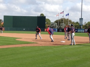 Morneau working on rundowns