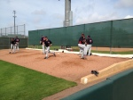 Francisco Liriano throwing bullpen