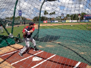 Josh Willingham taking BP