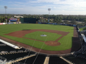 Field at Hammond Stadium