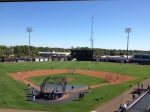 View of Charlotte Sports Park from the pressbox
