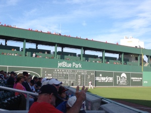 Green Monster from the stands