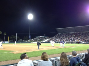 Deolis Guerra pitching in the seventh inning