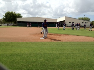 Miguel Sano during PFPs
