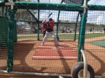 Hughes takes BP for first time