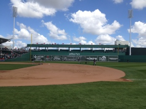 View of Green Monster at JetBlue