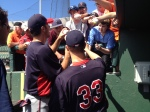 Mauer and Morneau sign for fans