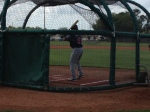 Top prospect Eddie Rosario about to swing
