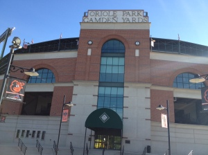 Entrance to Camden Yards