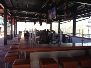 New bar in center field