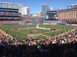 Opening Day ceremonies