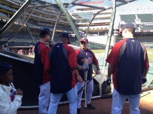 Buxton gets advice from Mauer, Morneau and Vavra