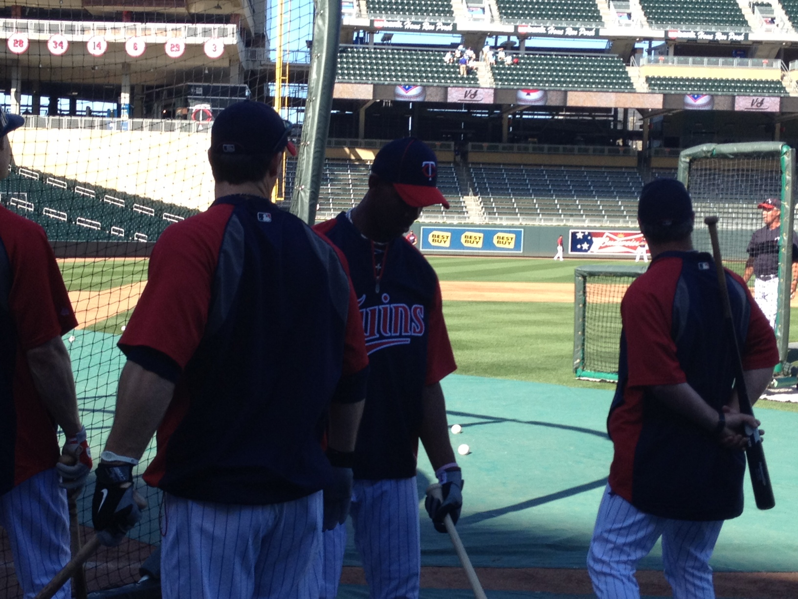 Buxton getting ready for BP
