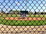 Twins playing an intrasquad game on Field 3