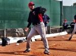 Mike Pelfrey throws a bullpen