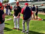 Ron Gardenhire catches up with Danny Valencia