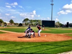 Prospect Jose Berrios throws in intrasquad game