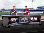 Justin Morneau does Canadian TV interview