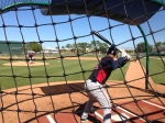 MikePelfrey throws live BP to Wilkin Ramirez