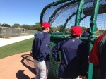 HOF Paul Molitor watches BP
