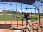 Aaron Hicks takes BP