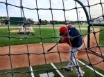 Oswaldo Arcia taking BP