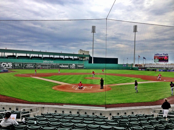 "View of ""B"" game at JetBlue Park"