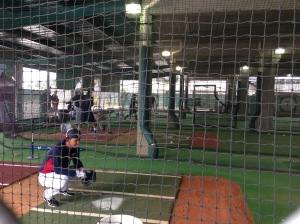 Eduardo Escobar catching