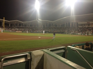 View of the game