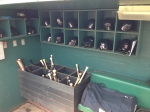 Dugout at McKechnie Field