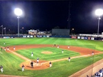 Charlotte Sports Park at night