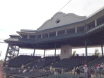 Pressbox at McKechnie Field