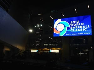 Outside Marlins Ballpark