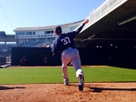 Pelfrey throws bullpen
